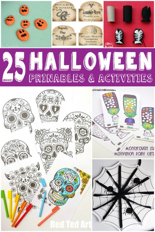Fun Halloween Printables and Activities