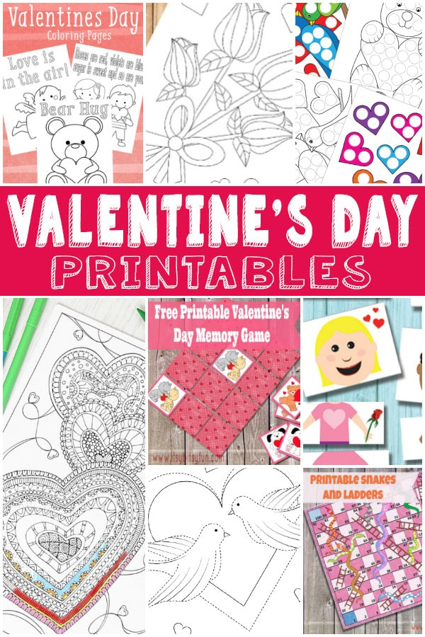 valentines day fun - v-day printables for kids - itsy bitsy fun, Ideas