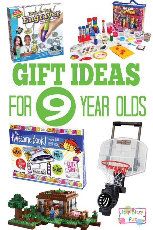 Gifts for 9 Year Olds - Christmas and Birthday Ideas