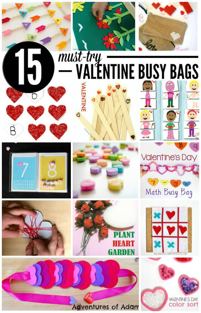 15 Must Try Valentine Busy Bags