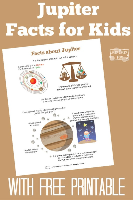 Fun Planet Jupiter Facts for Kids