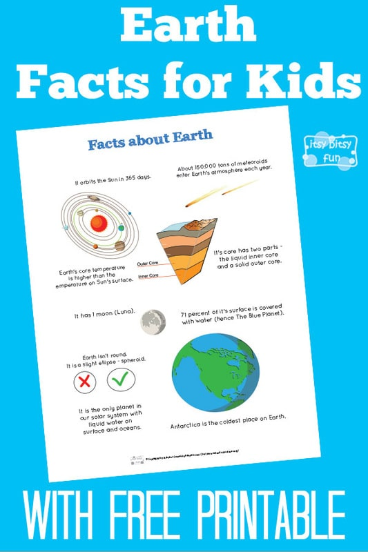 Fun Planet Earth Facts for Kids