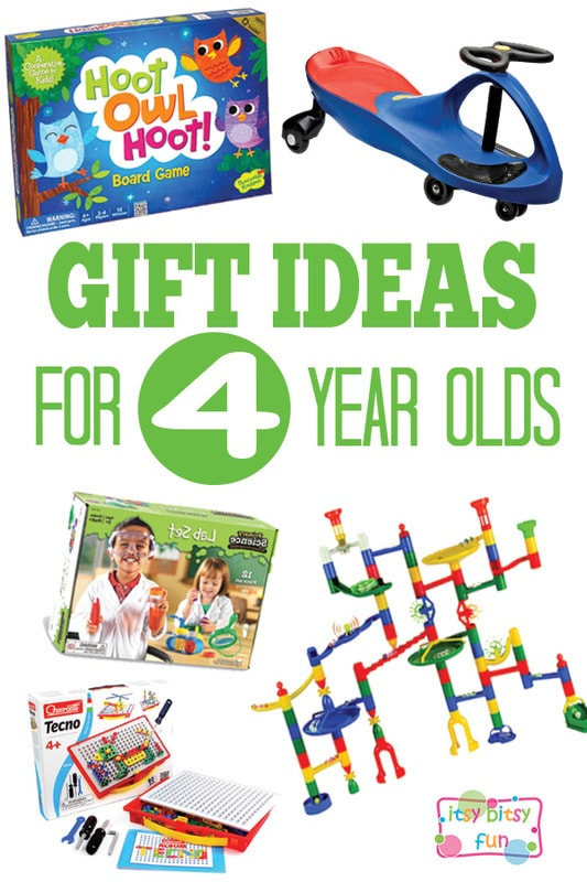 Gifts for 4 Year Olds - Christmas and Birthday Ideas