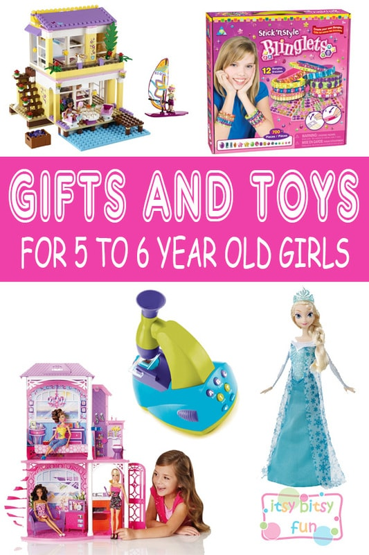 Best Gifts For 5 Year Old Girls. Lots of Ideas for 5th Birthday, Christmas and 5 to 6 Year Olds