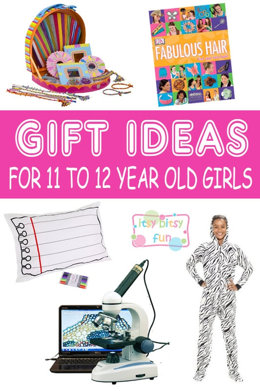 Best Gifts For 11 Year Old Girls. Lots of Ideas for 11th Birthday, Christmas and 11 to 12 Year Olds