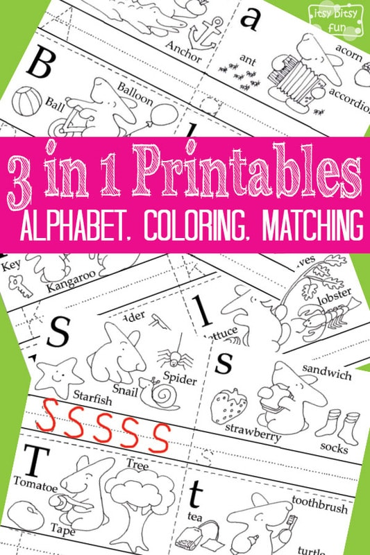 Little Bunny: 3 in 1 Printables