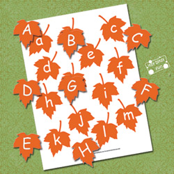 Alphabet File Folder Games