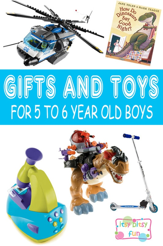 Best Gifts for 5 Year Old Boys in 2017 - Itsy Bitsy Fun