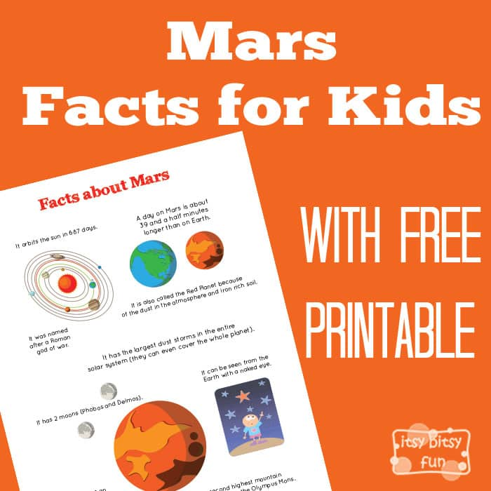 Fun Planet Mars Facts for Kids
