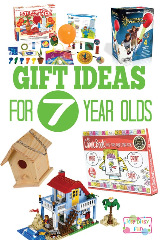 Gifts for 7 Year Olds - Christmas and Birthday Ideas