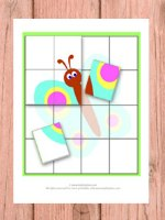 Puzzle File Folder Game