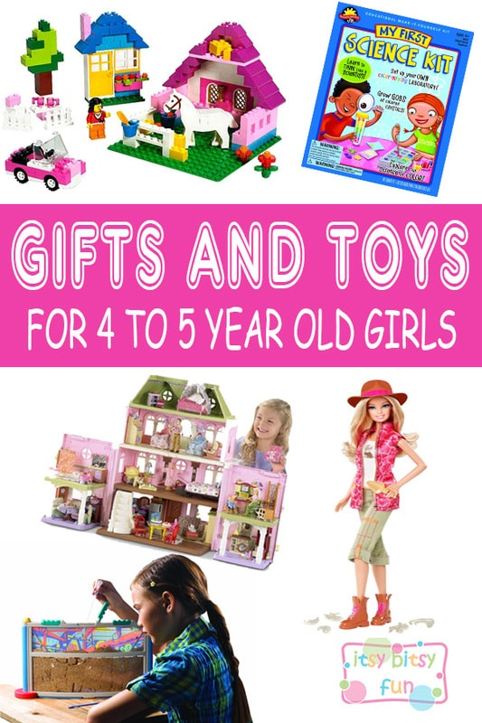 Best Gifts for 4 Year Old Girls in 2017 - Itsy Bitsy Fun