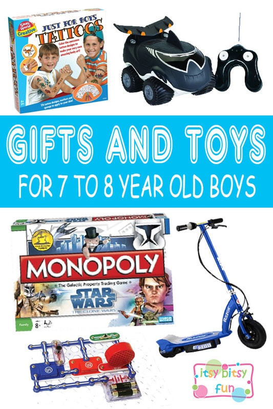 Best Gifts For 7 Year Old Boys. Lots of Ideas for 7th Birthday, Christmas and 7 to 8 Year Olds