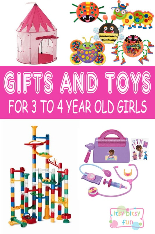 Best Gifts for 3 Year Old Girls in 2017 - Itsy Bitsy Fun