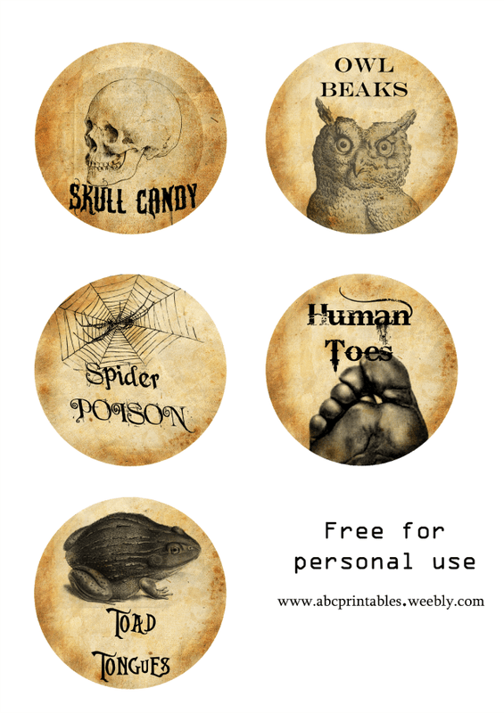 picture regarding Printable Halloween Labels titled Totally free Printable Halloween Bottle Labels - Itsy Bitsy Entertaining