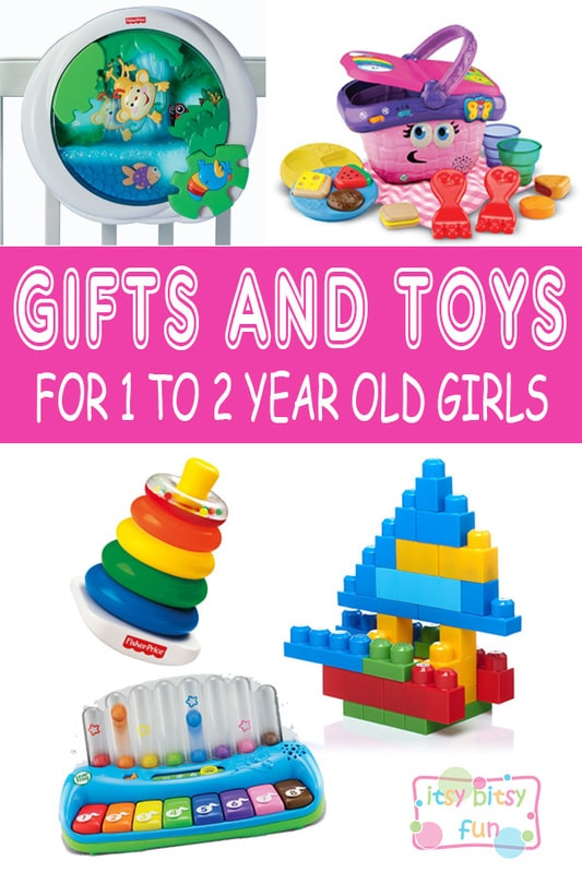 Best Gifts For 1 Year Old Girls. Lots of Ideas for 1st Birthday, Christmas Girls in 2017 - Itsy Bitsy Fun
