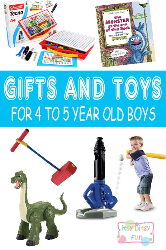 Best Gifts for 4 Year Old Boys in 2017 - Itsy Bitsy Fun