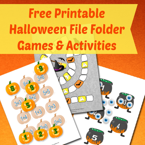 photograph regarding Printable Holloween Games named Halloween Report Folder Game titles - Itsy Bitsy Pleasurable