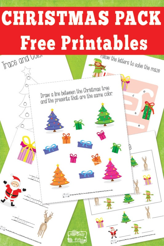 Christmas Free Printable Pack
