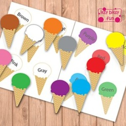Color Match Ice Cream