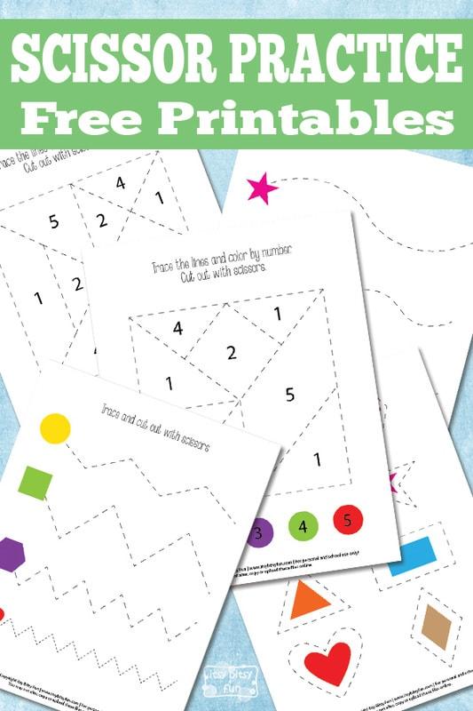 Free Scissor Practice Printables