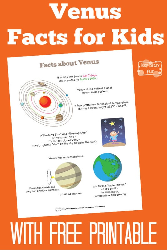 Fun Planet Venus Facts for Kids