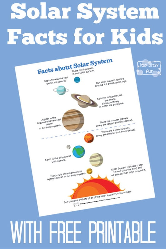 Fun Solar System Facts for Kids